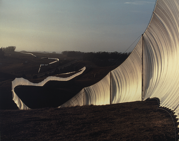 Christo Javacheffs Running Fence