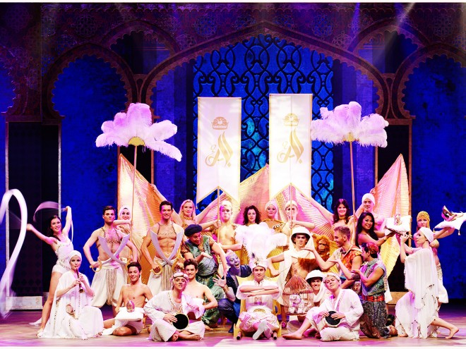 Aladdin The Musical foto Sren Malmose