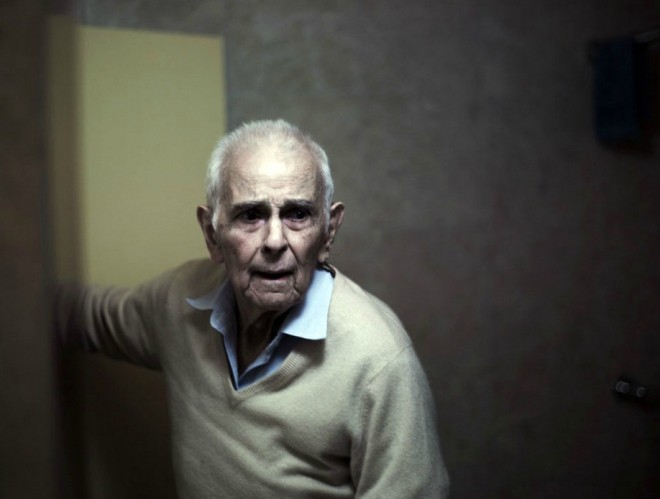 Copyright: Phillip Toledano, fra serien: Days With My Father