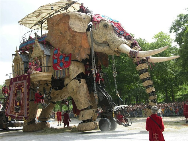 Steam Elephant