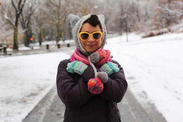"""I work at a yarn store."" © Humans of New York"